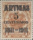 [The 100th Anniversary of the Battle of Las Piedras - Overprinted