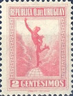 [Mercury - Issues of 1921 with Colors Changed, type FG2]