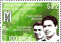 [The 100th Anniversary of the Racing Club of Montevideo, type GDT]