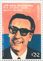 [The 100th Anniversary of the Birth of Adolfo Aguirre González, 1919-1999, type GDZ]
