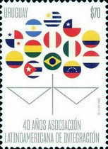 [The 40th Anniversary of the Latin American Association for Integration, type GGD]