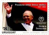 [Democracy Day - President Jorge Batlle Ibanez, 1927-2016, type GHF]
