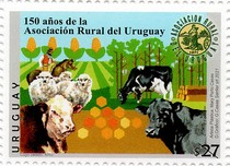 [The 150th Anniversary of the Rural Association of Uruguay, type GJB]