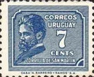 [Juan Zorrilla de San Martin Commemoration, 1855-1931, type HU2]