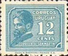 [Juan Zorrilla de San Martin Commemoration, 1855-1931, type HU3]