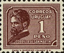 [Juan Zorrilla de San Martin Commemoration, 1855-1931, type HU4]