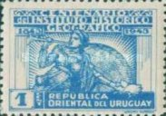 [The 100th Anniversary of the Historical and Geographical Institute, Montevideo, type JD1]