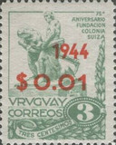 [The 75th Anniversary of the Founding of Swiss Colony - Not Issued Stamps, type JE]