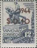 [The 75th Anniversary of the Founding of Swiss Colony - Not Issued Stamps, type JG]