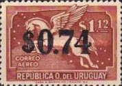 [Airmail - Issues of 1935 Surcharged, type JM]