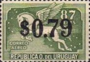 [Airmail - Issues of 1935 Surcharged, type JN]