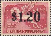 [Airmail - Issues of 1935 Surcharged, type JP]