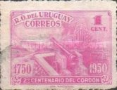 [The 200th Anniversary of Cordon, District of Montevideo, type LL]