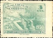 [The 200th Anniversary of Cordon, District of Montevideo, type LL1]