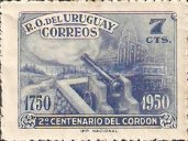 [The 200th Anniversary of Cordon, District of Montevideo, type LL2]