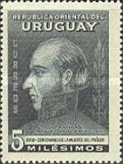 [The 100th Anniversary of the Death of General Jose Artigas, 1764-1850, type LO]