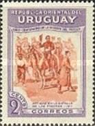 [The 100th Anniversary of the Death of General Jose Artigas, 1764-1850, type LQ]