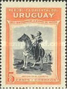 [The 100th Anniversary of the Death of General Jose Artigas, 1764-1850, type LS]
