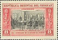 [The 100th Anniversary of the Death of General Jose Artigas, 1764-1850, type LU]