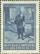 [The 100th Anniversary of the Death of General Jose Artigas, 1764-1850, type LW]