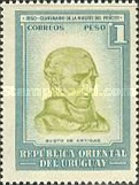 [The 100th Anniversary of the Death of General Jose Artigas, 1764-1850, type LZ]