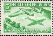 [The 75th Anniversary of U.P.U., type MA]
