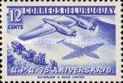 [The 75th Anniversary of U.P.U., type MA2]