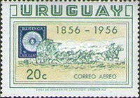 [Airmail - The 100th Anniversary of the First Uruguay Stamps, type MX]