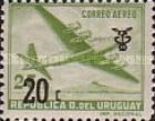 [Airmail - Ussue of 1947 Surcharged, type OC]