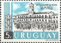 [The 150th Anniversary of the Argentine May Revolution, type OI]