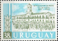 [The 150th Anniversary of the Argentine May Revolution, type OI2]