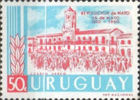 [The 150th Anniversary of the Argentine May Revolution, type OI3]