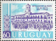 [The 150th Anniversary of the Argentine May Revolution, type OI4]