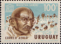 [Airmail - The 100th Anniversary of the Birth of Mahatma Gandhi, type VV]