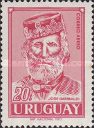 [Airmail - The 100th Anniversary of Garibaldi's Participation in the Defence of the Uruguay against Brazil and Argentina, type VY]