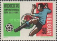[Airmail - Football World Cup - Mexico, type WE]