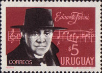 [The 21st Anniversary of the Death of Eduardo Fabini, 1882-1950, type XM]