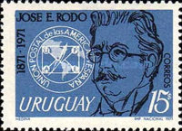 [The 100th Anniversary of the Birth of Jose Rodo, type XP]