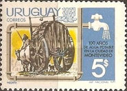 [The 100th Anniversary of the Montevideo's Water Supply, type XQ]