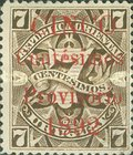 [Issue of 1889 Surcharged, type ZBI]