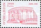 """[Buildings - """"2008"""" on Stamps, type ABA4]"""