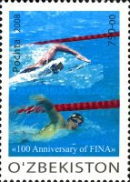 [The 100th Anniversary of FINA, Typ ABP]