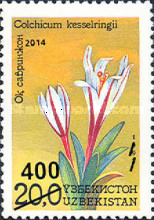 [Flowers of Uzbekistan Issue of 1993 Surcharged, Typ AI1]