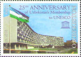 [The 25th Anniversary of Uzbekistan in the UNESCO, Typ ATL]
