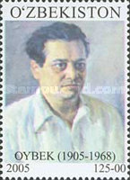 [The 100th Anniversary of the Birth of Muso Oybek, 1905-1968, type TY]