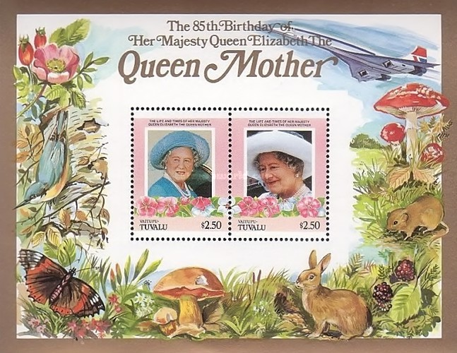 [The 85th Anniversary (1985) of the Birth of Queen Elizabeth, 1900-2002, Typ ]