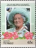 [The 85th Anniversary of the Birth of Queen Elizabeth, 1900-2002, Typ BN]