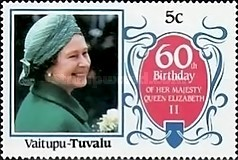 [The 60th Anniversary of the Birth of Queen Elizabeth II, Typ CE]