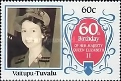 [The 60th Anniversary of the Birth of Queen Elizabeth II, Typ CF]