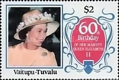 [The 60th Anniversary of the Birth of Queen Elizabeth II, Typ CG]